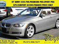 This 2007 BMW 3 Series 335i is offered to you for sale