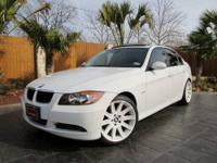 2007 BMW 328i This BMW is equipped with a 3.0L I6, and