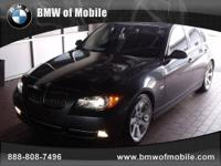 BMW of Mobile presents this CARFAX 1 Owner 2007 BMW 3