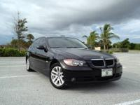 Beautiful 2007 328i. Black exterior, black leather