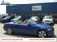2007 BMW 335i, 6 speed automatic w/ paddle shifters ,