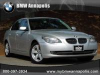 BMW of Annapolis presents this 2007 BMW 5 SERIES 4DR