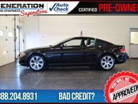 2D Coupe, Black, and 2007 BMW 6 Series. Nav! Why pay