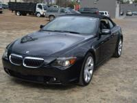This 2007 BMW 6 Series 2dr 2dr Conv 650i Convertible