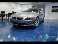 2006 BMW 650I Convertible EQUIPPED with,Selection of