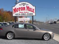 Additional Clean One Owner 2007 BMW 7 Series 750Li