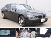 Recent Arrival! 2007 Black Sapphire Metallic BMW 7