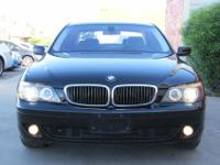 2007 BMW 750i FULLY LOADED with Sport Package, cold