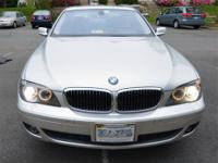 PRICE REDUCED FOR IMMEDIATE SALE - Loaded 2007 BMW 750i