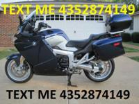 For sale is this fine example of a BMW K1200GT, 2007,