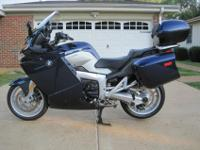O**********OFor sale 2007 BMW K1200GT. This bike comes