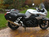 2007 BMW K1200 R Sport. Has small fairing and gearing