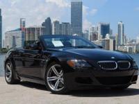 MSRP of $111,770.00 CARBON FIBRE BLACK TRIM BMW M6