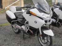 2007 BMW R1200 RTP Motorcycle 34,448 miles City of