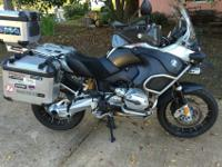 Here's a wonderful Adventure bike. 2007 with just 49K