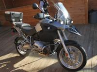 2007 BMW R 1200 GS Original owner, garage kept as a