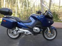 For sale is my 2007 BMW R1200RT. It was ridden