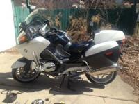 2007 BMW R1200RT-P. This bike was built for Illinois