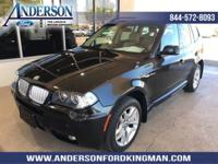 This BMW X3 has a dependable Gas I6 3.0L/183 engine