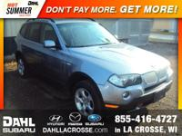 2007 BMW X3 3.0si AWD *PANARAMIC ROOF*, *HEATED FRONT