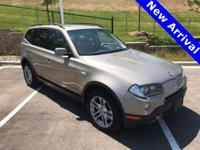 2007 BMW X3 3.0si, **4-MOTION/AWD**, **ACCIDENT FREE