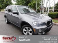 This is a nice and clean 2007 BMW X5 3.0si in Space