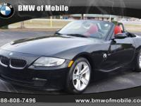 BMW of Mobile presents this 2007 BMW Z4 2DR ROADSTER