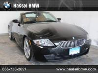 Hassel BMW Mini presents this 2007 BMW Z4 2DR ROADSTER