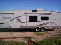 We have a really nice condition 34 foot Travel trailer.
