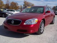 Options Included: N/A2007 Buick Lucerne CXL Red, 68160