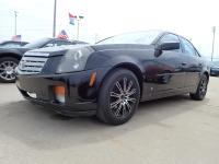 Options:  2007 Cadillac Cts |Black Exterior|Stock