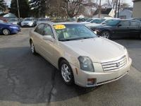 Options:  2007 Cadillac Cts 4D Sedan 3.6L|Gold|Abs
