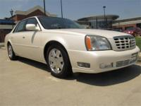 2007 CADILLAC DTS, V8, Auto, Black/Black leather power