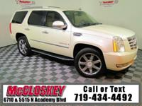 Luxurious and well-kept 2007 Cadillac Escalade w/ 6.2L