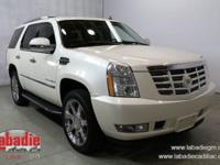 Recent Arrival! New Price! 2007 Cadillac Escalade White