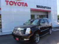 Black 2007 Cadillac Escalade AWD 6-Speed Automatic HD