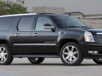 LOOK! ONLY 46K MILES! HIGHLY EQUIPPED ESCALADE ESV!