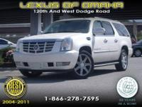 2007 CADILLAC ESCALADE EQUIPPED WITH LEATHER INTERIOR