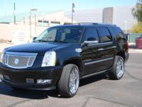 2007 Escalade. Has ridiculously low miles for it's age