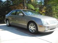 This Cadillac STS is a luxury sport touring sedan to