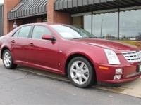 CADILLAC STS V6-COOLED/HEATED LEATHER SEATS-SEAT