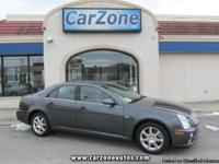 2007 CADILLAC STS 4 | Thunder Gray with Gray Leather