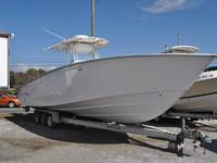 2007 Cape Horn 36ft Offshore Series Center Console with