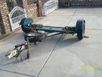 2007 Car Dolly 84 inches wide electric brake, excellent