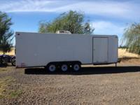 2007 Carson 8-1/2 x 24-1/2 enclosed trailer; Triple
