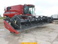 2007 CASE 2062, Length: 36ft, Flex Draper Head. Finger