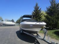 POWERED WITH A 5.7 OSXI-G VOLVO PENTA AND DUAL PROPS,