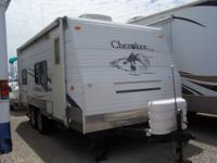 Cherokee trailer is 20 feet long (see attached spec;s).