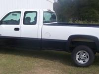For Sale: 2007 Chevrolet 2500HD 4X4 Extended Cab 3/4