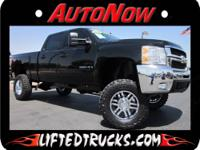 2007 CHEVY 2500HD CREW CAB DIESEL LIFTED TRUCK FOR